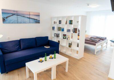 Suite | Wohn- und Schlafbereich